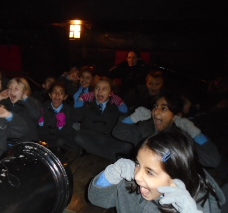 Aboard The Golden Hind